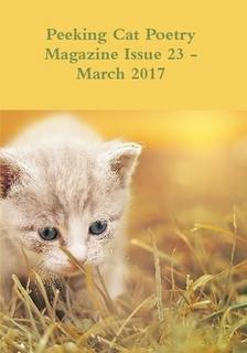 Peeking Cat Poetry Cover