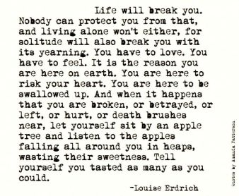 Louise Erdrich Quote