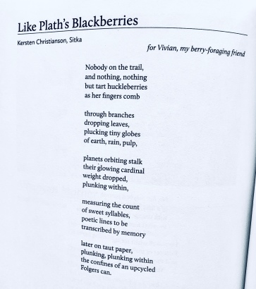 Like Plath's Blackberries